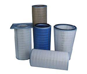 Cartuccia di filtro da brillamento di sabbia della flangia del collettore di polveri