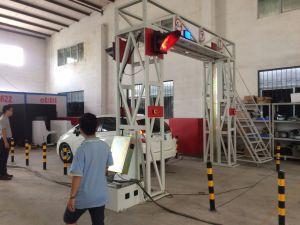 X передвижной рентгеновский аппарат системы скеннирования груза и корабля луча
