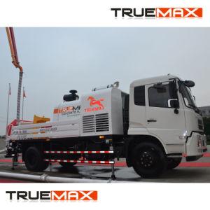 Linha de concreto caminhão bomba com motor Deutz