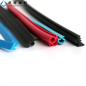 De kleurrijke Verbinding van de Bodem van de Deur van de Uitdrijving Flexibele Rubber