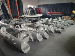 Haoyu Barco Rib360c barco Embarcación inflable barco pequeño para la familia