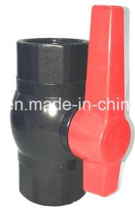 Valvola a sfera di plastica del PVC con il filetto BSPT con 110mm