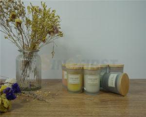 Comercio al por mayor velas aromáticas de la copa de vidrio vela en frasco de vidrio