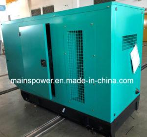 generatore di potere standby di valutazione del generatore diesel insonorizzato del baldacchino di 55kVA Cummins
