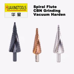 Etapa HSS Broca Flauta espiral M35, M2, 6542, rm 4241 Power Tools revestimento preto de cobalto