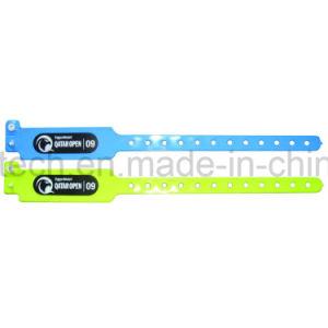 주문을 받아서 만들어진 13.56MHz는 처분할 수 있는 PVC RFID/NFC 소맷동을 방수 처리한다