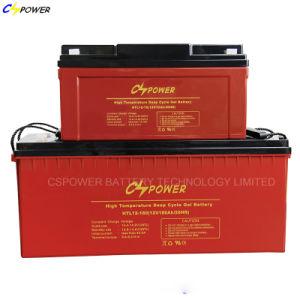12V Batterij van het 250ah de Navulbare Gel voor Zonnepaneel/de Levering van de Macht