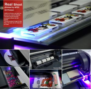 40X60cmの自動高さセンサーUV4060が付いている新しい紫外線ペンプリンター