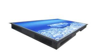 70  매체 LCD 선수에서 건설되는 SD/Udb를 가진 벽 마운트 열린 구조 가득 차있는 HD 독립 LCD 디스플레이