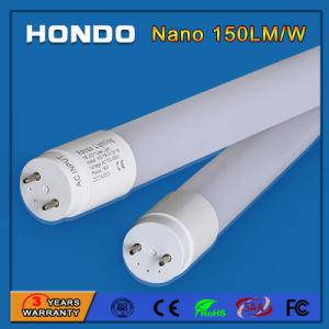 주차를 위한 SMD2835 1200mm 150lm/W T8 LED 가벼운 형광등 18W