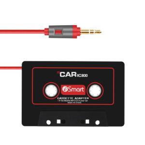 3.5mm 차 카세트 테이프 선수를 위한 보조 오디오 케이블 접합기 변환기