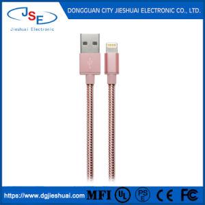 Фги сертифицированных металлические молнии Chargersync USB-кабель для Apple iPhone/iPad/iPod