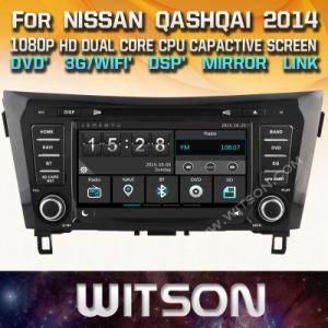Tela de Toque do Windows Witson aluguer de DVD para a Nissan Qashqai 2014