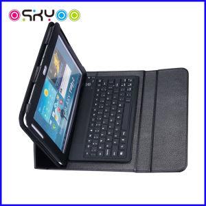 Mini-teclado sem fio Bluetooth para a Samsung Galaxy Tab estojo de couro