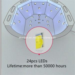 Luz de cura rápida Secador de unhas 48W a lâmpada de unhas de LED da Sun