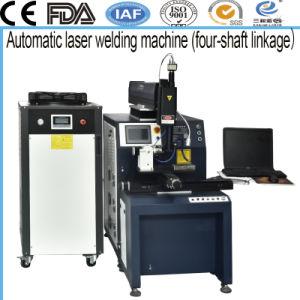 Macchina automatica del saldatore del laser di YAG con la macchina fotografica del CCD