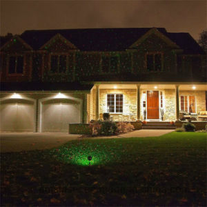 Indicatore luminoso esterno del partito di prato inglese della luce laser del giardino di natale per il mini proiettore della fase