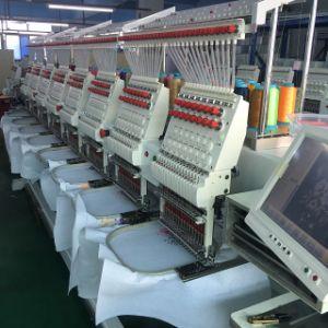 Feiya機械と同様、コンピュータ化された8つのヘッド帽子の刺繍機械