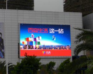 Pleine couleur P6 Affichage LED étanche à l'extérieur de la publicité d'administration