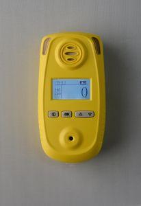 Um único detector de gás portáteis pessoais para o H2s, Co, O2