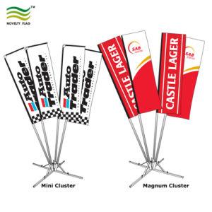 Los postes de 4 y 5 postes indicadores del clúster de poliéster personalizadas