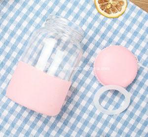 Macaron Glaswasser-Glas-kreativer Kursteilnehmer-transparente Cup 330ml