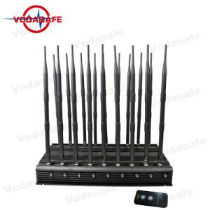 Сотовый телефон для настольных ПК Данный сигнал GPS, Jammer valve для всех сотовых телефонов, пульт дистанционного управления, он отправляет радио VHF/UHF/блокировки всплывающих окон 18 антенны мобильного телефона/GPS/кражи Lojack/ОВЧ/УВЧ радиосвязи/CDMA