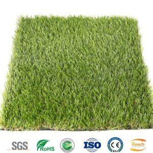 25mm landschaftlich verschönerndes preiswertestes künstliches Gras für Garten-Balkon-Dach