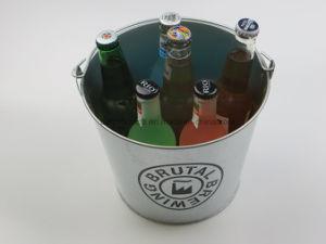 Benna di ghiaccio galvanizzata apri di bottiglia con la maniglia
