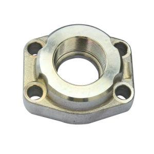 La forja de mecanizado de accesorios para tuberías de acero inoxidable