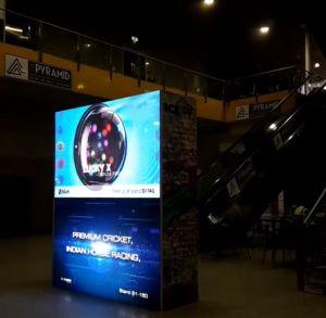 Piscine plein écran LED de couleur pour la publicité
