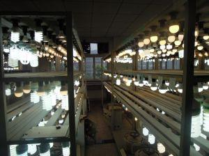 Tampa de alumínio lâmpadas LED LED de alta potência com 50W
