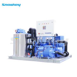 1t/d-10t/d Flake La Máquina de hielo de refrigeración para los productos cárnicos