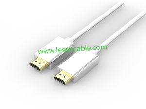 Rundes HDMI Kabel mit morgens zu den Dm-Steckern, 1080P