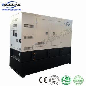 35kVA Ce/ISOのCumminsによって動力を与えられる防音のディーゼル発電機セット