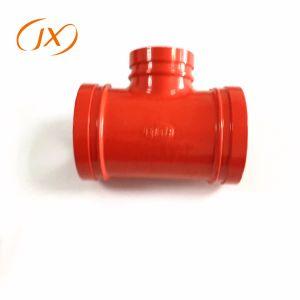 La aprobación FM UL Racor de tubería de hierro de fundición Equall Tee para la lucha contra incendios