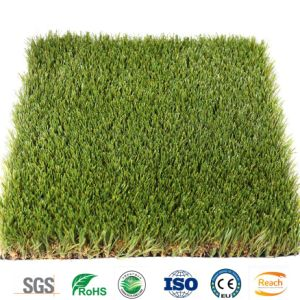 Preiswertes im Freien synthetisches gefälschtes künstliches Gras für Wohngebiete