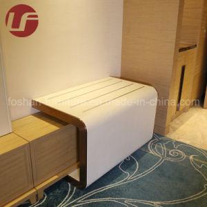 Estilo Hilton 5 Estrellas Hotel King Room mobiliario con cabecero de cuero de PU