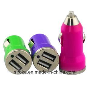 Рекламные автомобильное зарядное устройство USB DC5V3.1A автомобильное зарядное устройство для мобильных телефонов
