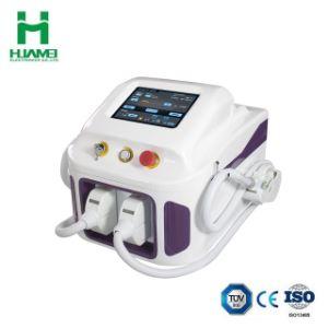 Macchina permanente di bellezza di cura di pelle delle attrezzature mediche di rimozione dei capelli del laser di IPL Shr Elight rf