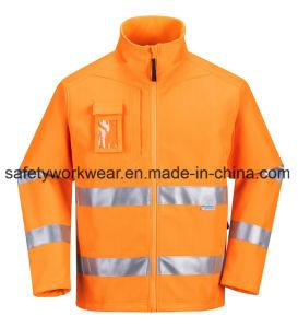 Chaleco reflectante de alta visibilidad ropa de seguridad Softshell Ropa de trabajo