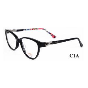 De recentste Frames van Glazen voor Frame van de Glazen van de Acetaat van Eyewear van Meisjes het Optische