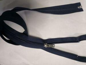 Normale Nylon Ritssluiting met de de Diepe Blauwe Band van de Kleur/Trekker van het Metaal en Hoogste Kwaliteit