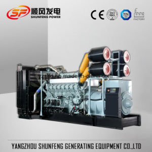 800квт Mitsubishi электрической энергии двигателя дизельного генератора, Китай производителя