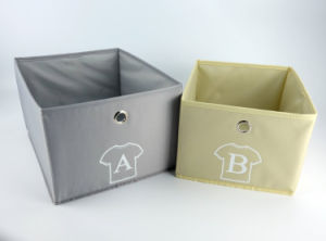Non tissé PLIABLE carton Cube Panier de stockage pour les enfants des articles divers