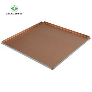 2'x2' Square Style simple de matériaux de construction du Conseil de plafond en aluminium