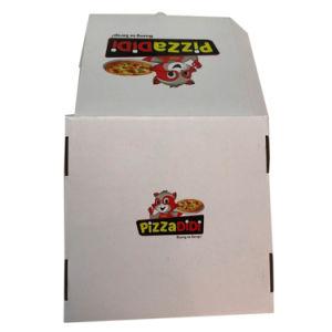 بيضاء يغضّن [فوود غرد] ورقة تعليب بيتزا صندوق