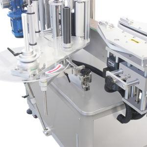 Square/Automática de Botellas redondas Single-Side pegatinas de la máquina de etiquetado
