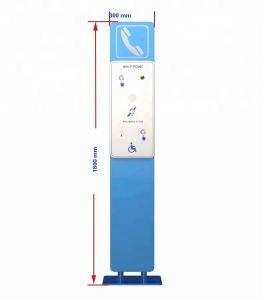 Для использования вне помещений Sos автоматической телефонной станции по шине CAN с встроенным индуктивным контуром