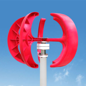 수직 축선 바람 터빈 발전기 300W 12/24V 빛 및 휴대용 바람 발전기